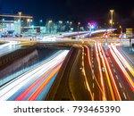 Car Traffic At Night In Neu Ul...