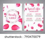 vector vertical banners... | Shutterstock .eps vector #793470079