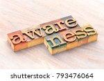 awareness word abstract  text... | Shutterstock . vector #793476064