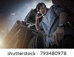 transportation industry... | Shutterstock . vector #793480978