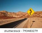 Artist\'s Drive In Death Valley...