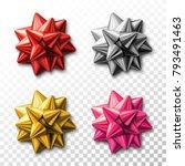 stock vector set of decorative... | Shutterstock .eps vector #793491463