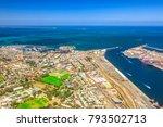 aerial view of fremantle... | Shutterstock . vector #793502713