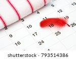 feminine hygiene products ... | Shutterstock . vector #793514386