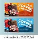 coffee to go free coffee... | Shutterstock .eps vector #793529269