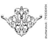 classical baroque vector of...