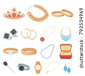 jewelry and accessories cartoon ... | Shutterstock .eps vector #793534969