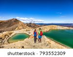 new zealand popular tourist... | Shutterstock . vector #793552309