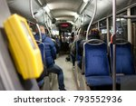 public transport and e tickets | Shutterstock . vector #793552936