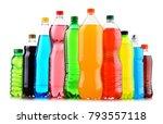 plastic bottles of assorted...   Shutterstock . vector #793557118