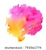 colorful abstract watercolor... | Shutterstock .eps vector #793561774