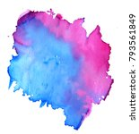 colorful abstract watercolor... | Shutterstock .eps vector #793561849