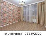 empty room after repair | Shutterstock . vector #793592320