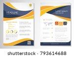 template vector design for... | Shutterstock .eps vector #793614688