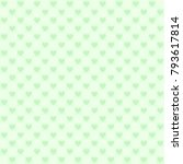 green checkered pattern with... | Shutterstock .eps vector #793617814
