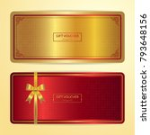 chinese style gift certificate  ...   Shutterstock .eps vector #793648156