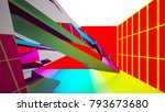 abstract white and colored... | Shutterstock . vector #793673680