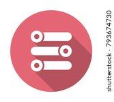 equalizer mixer adjustment  | Shutterstock .eps vector #793674730