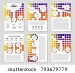 abstract vector layout... | Shutterstock .eps vector #793679779