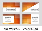 abstract vector layout... | Shutterstock .eps vector #793688350