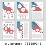 abstract vector layout...   Shutterstock .eps vector #793689343