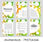 abstract vector layout... | Shutterstock .eps vector #793716166