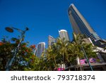 gold coast  queensland... | Shutterstock . vector #793718374