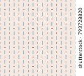 seamless vintage pattern | Shutterstock .eps vector #793728820