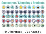 shopping e commerce shopping... | Shutterstock .eps vector #793730659