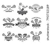 vector logos or labels for... | Shutterstock .eps vector #793732189