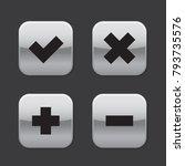 checkmark cross plus minus  x v ...