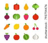 vector flat illustrations of... | Shutterstock .eps vector #793754476