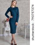 european  model girl  woman ... | Shutterstock . vector #793757374