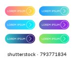 call action now icon. set of... | Shutterstock .eps vector #793771834