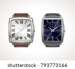 set of classic and modern mens... | Shutterstock .eps vector #793773166