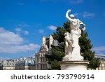 paris  france   march 22  2016  ... | Shutterstock . vector #793790914