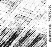 abstract grunge grey dark... | Shutterstock . vector #793793050