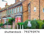 traditional english terraced... | Shutterstock . vector #793793974