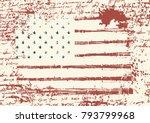 vector flag of the united...   Shutterstock .eps vector #793799968