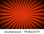 background with retro rays.... | Shutterstock .eps vector #793822579