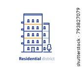 real estate  residential... | Shutterstock .eps vector #793827079