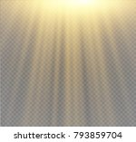 light flare special effect with ... | Shutterstock .eps vector #793859704