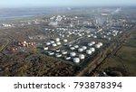 aerial view of ellesmere port ... | Shutterstock . vector #793878394