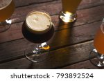 pale  dark  unfiltered pale and ... | Shutterstock . vector #793892524