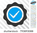 valid pictograph with 700 bonus ... | Shutterstock .eps vector #793893088