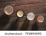 pale  dark  unfiltered pale and ... | Shutterstock . vector #793894090
