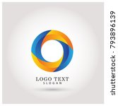 modern circle   o logo. symbol  ...   Shutterstock .eps vector #793896139