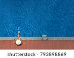 enjoying suntan. vacation... | Shutterstock . vector #793898869