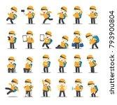 cartoon character design male... | Shutterstock .eps vector #793900804