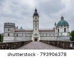 Castle In Krasiczyn  Poland